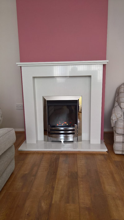 gas bespoke fire in Essex